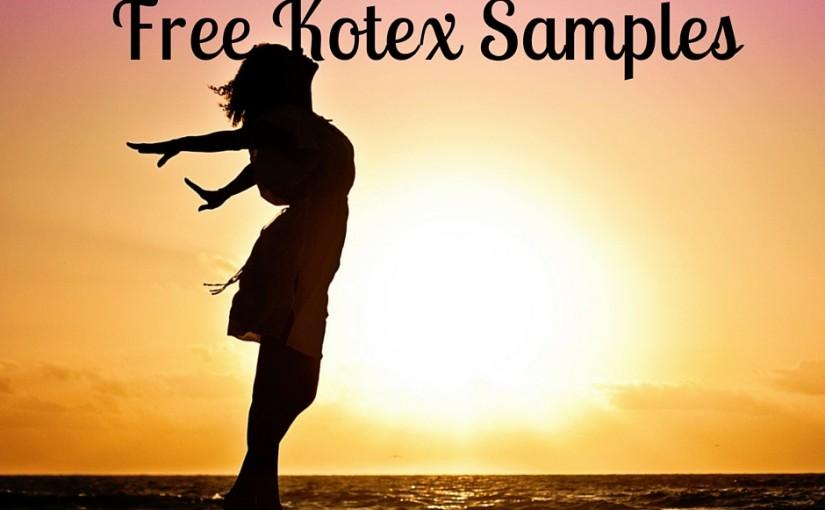 Free Kotex Samples