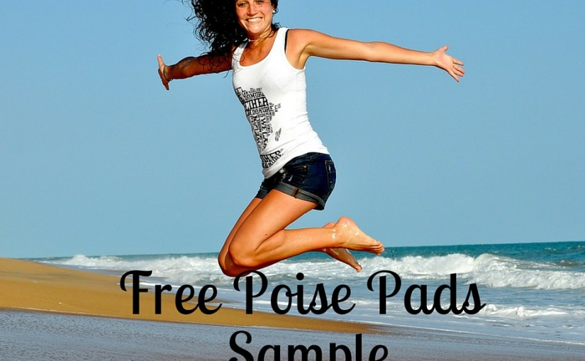 Poise Pads Samples