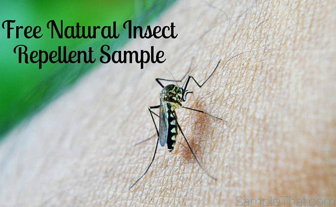 Free Natural Insect Repellent Sample