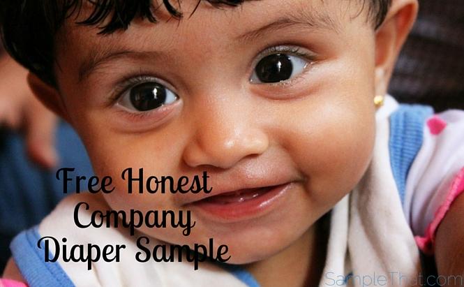 Honest Company Diaper Samples