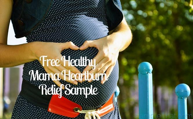 Healthy Mama Heartburn Relief Sample