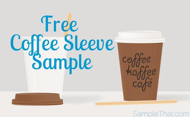 Free Coffee Sleeve Sample