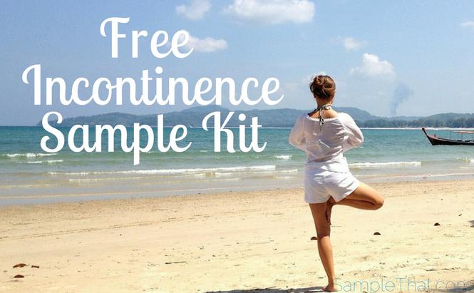 Free TENA Incontinence Sample Kit