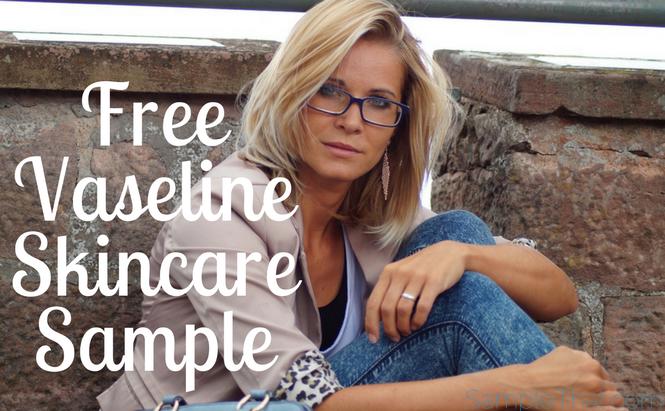 Free Vaseline Skincare Sample