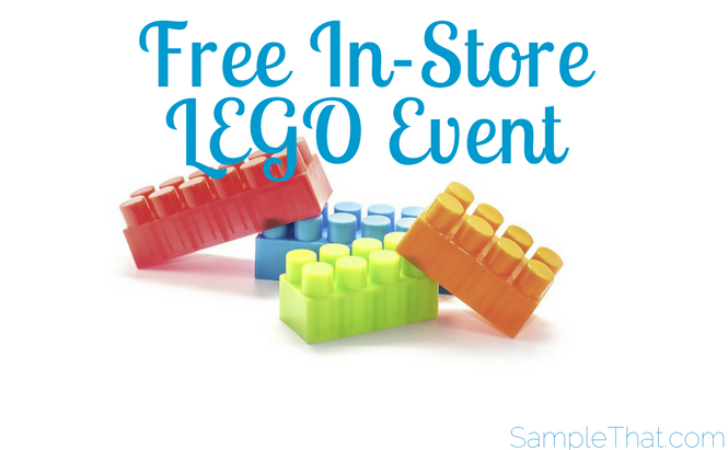 Free In-Store LEGO Event