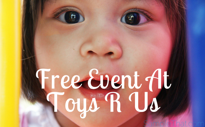Free Event At Toys R Us Sunday 6/25