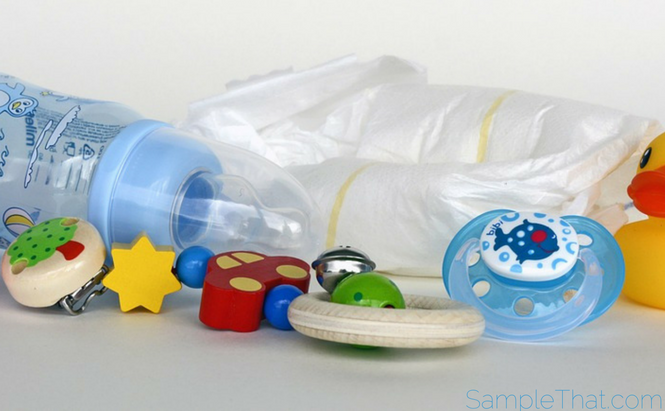 Free Bottle & Pacifier At Babies R Us