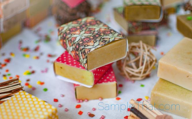 Free Organic Soap Sample